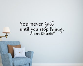 Wall Decal Quote Etsy - Wall decals motivational quotes