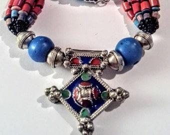 Collar de fantasía berbere