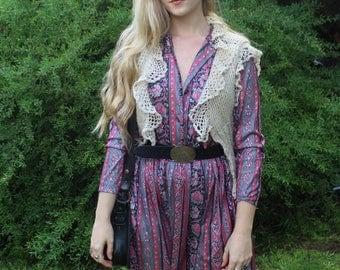 The Natasha Woollen Boho Vest
