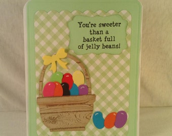JELLY BEAN EASTER Gift Card Holder