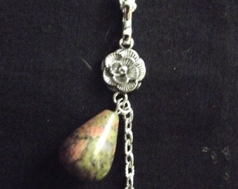 "Necklace  ""Nature and Unakite"""