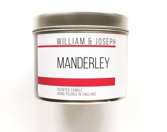 Manderley Scented Candle | Rebecca, Daphne Du Maurier, Book lovers gift, Book Candles, Literary gifts, Bookish Candles