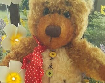 Scruffety Warren OOAK Artist Teddy Bear