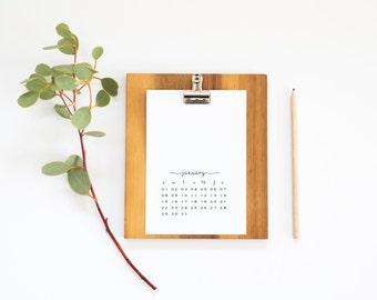 Wand Kalender 2017,
