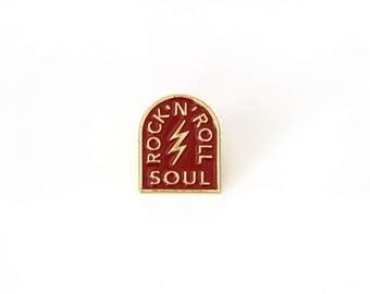 Rock N Roll Enamel Pin