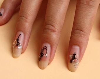 Tinkerbell Fairy Nail Stickers 20pcs   I5