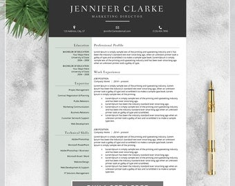 resume template cv template for ms word creative resume modern resume design