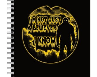 I'm Not Just a Believer I know Notebook