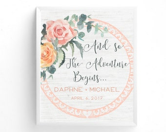 Wedding Welcome Sign-PRINTABLE, Pink Floral, Bridal Shower, Shabby Chic, Rustic Wedding, Linen, Burlap, Summer Wedding, Spring Wedding