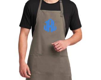 Grilling Aprons for him Father's Day Aprons Monogrammed Apron Personalized Apron Great FATHER'S DAY GIFT