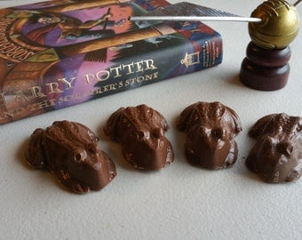 6 Chocolate Frogs, Chocolate Rats, Harry Potter