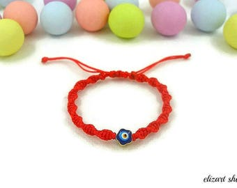 Evil eye baby bracelet, keepsake bracelet, toddler bracelet, infant bracelet, newborn bracelet, baby protection bracelet, new baby bracelet.
