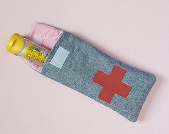 EpiPen Pouch - Padded EpiPen Case - Easy Access Medical Pouch - Emergency Medicine Pouch - Personalized - Custom EpiPen Case