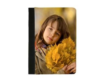 Custom Personalised IPad Mini 1 case Mini 2 Case Mini 3 Case Mini 4 Case Faux Leather Folio Case / Cover