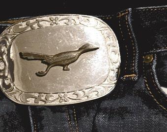 Vintage Road Runner Belt Buckle
