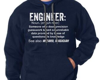 Engineer Hoodie Sweatshirt Gift For Engineer Sweater