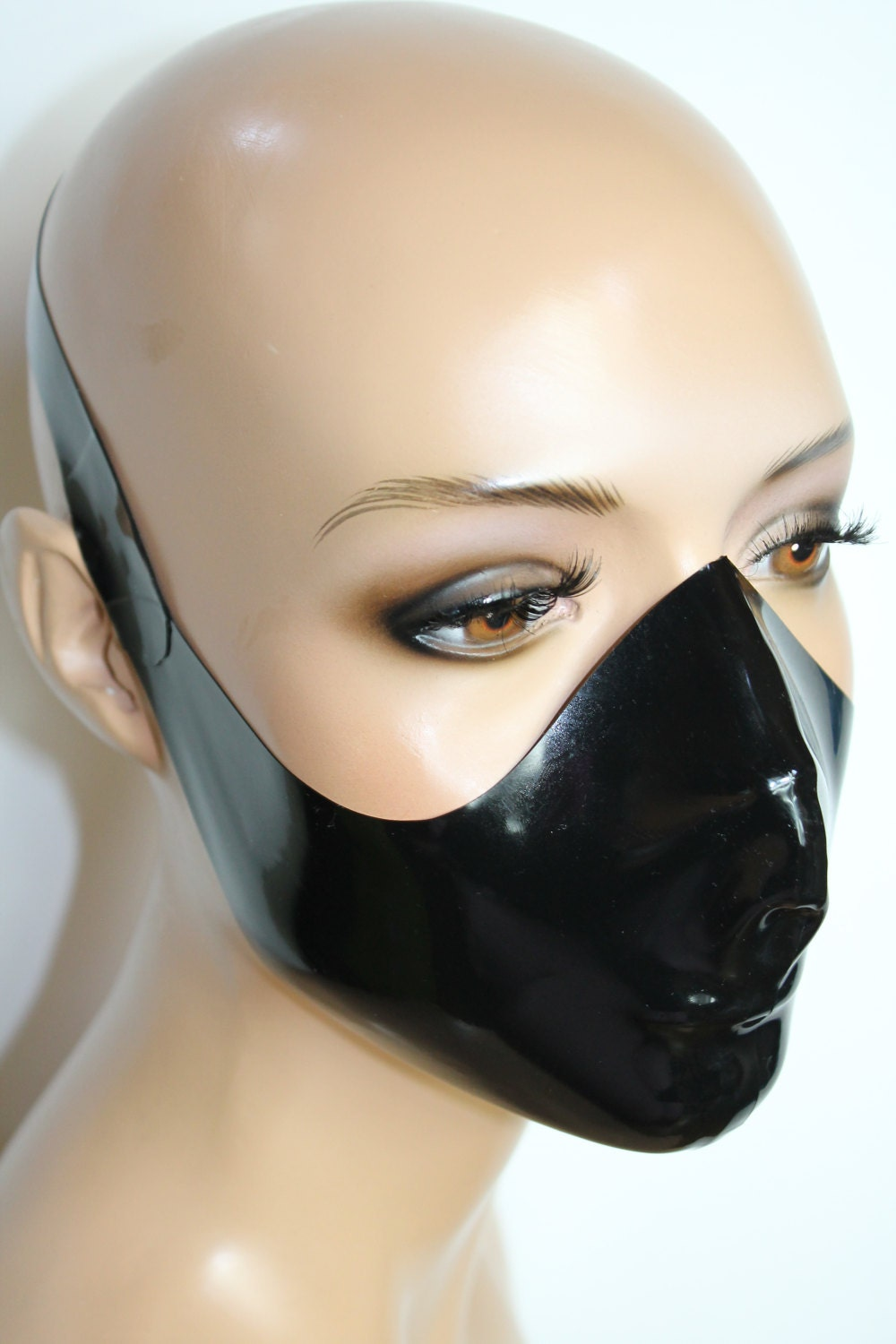 how to make a rubber face mask