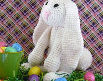 Custom Handmade Crochet Easter Bunny, stuff animal, crochet animal, Amigurumi