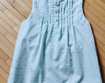 Little lined dress 12 months plumeti