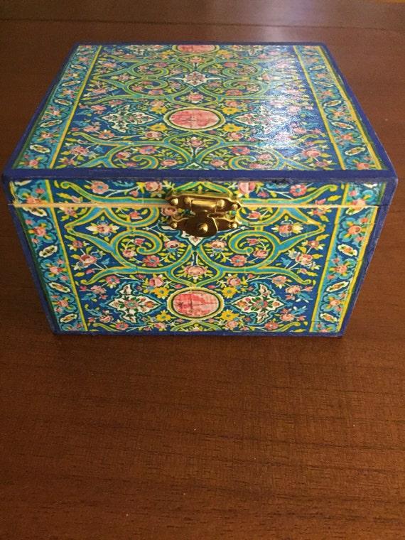 SALE persian jewellery box, jewelry storage, wooden box,home decore, design, accessories,