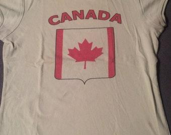 Tee Shirt woman VINTAGE CANADA