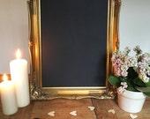 Vintage verzierten Tafel Goldrahmen für Hochzeit 15 x 19 Zoll - Tafel, Menüs, Schilder, Home Decor, Partys, etc.