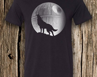 That's No Moon Triblend Crew Neck T-Shirt