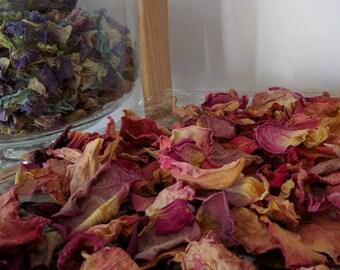 Rustic Rose Confetti, Red Rose Confetti, Biodegradable Confetti, Wedding Confetti, Natural Hand Dried Confetti, Real Petal Confetti,