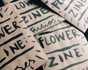 mini flower zine: ROSES