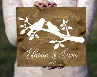 Wedding Sign, Wedding Gift, Custom Wooden Sign, Custom Wedding Sign, Anniversary Gift, Custom Wedding Gift, Wedding Wood Sign Rustic