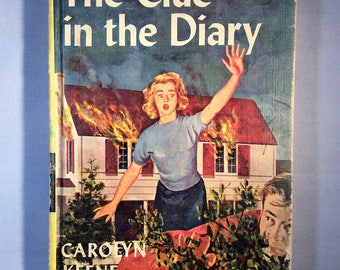 The Clue in the Diary, Nancy Drew Mystery Stories by Carolyn Keene - 1962 Copyright