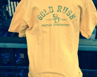 GOLD RUSH Baylor T-Shirt     Think Young!  Think Neil Young- small