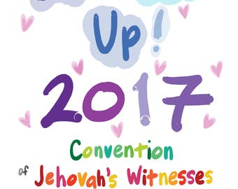 3 programs - Don't Give Up! 2017 Regional Convention Program Activities for Adults, Kids 6+, and Kids 3+ for Jehovah's Witnesses - DIGITAL