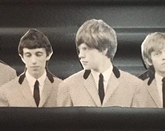 Preppy/Mod Rolling Stones, Large Single Magnet - Mick Jagger - Mod