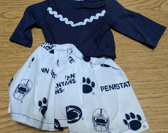 "Penn State Nittany Lions Cheerleading 18"" Doll Clothes"