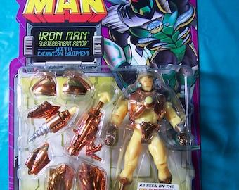 1995 Iron Man Subterranean Armor Action Figure [Unopened]