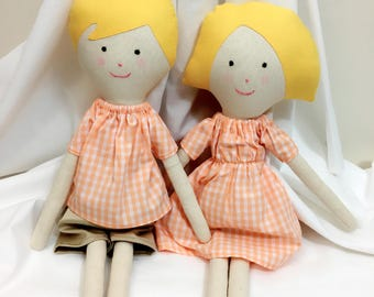 handmade doll rag doll cute doll girl doll
