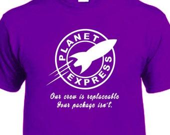 Futurama Planet Express Company T-shirt