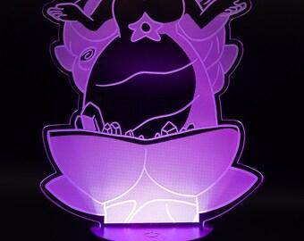 Rose Quartz Steven Universe LED Light Display