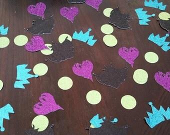 Descendants Table Confetti-Free Shipping!  Descendants Party Decorations