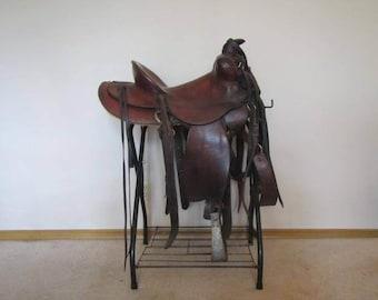 Vintage Hamley & Co. Western Saddle