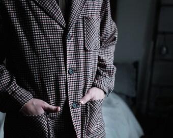 Pendleton Plaid Wool Jacket   USA