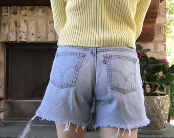 Vintage Levi Cut-Off Shorts