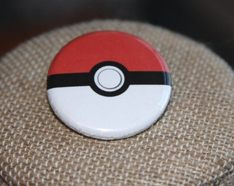 Pokemon Buttons, Poke Ball Buttons, Pokemon Pins, Poke Ball Pins
