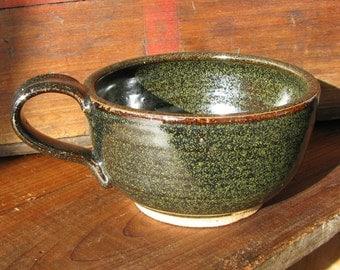 Handmade Pottery Mug, Ceramic Mug, Stoneware Coffee Cup, Cappuccino cup