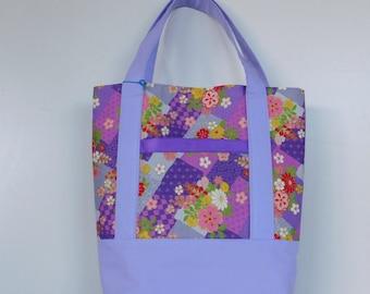 Tote Bag /  Market Bag /  Japanese Print / Tote Bag / Shopping Bag / Reusable Bag / Messenger Bag / Shopper Tote / Designer Tote / Tote