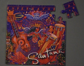 Santana CD Cover Magnetic Puzzle