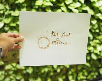 But First Coffee... - Digital Copy