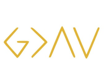 God is Greater than the highs and lows svg, God is greater svg, god svg, svg, dxf, cricut, silhouette cutting file, instant download