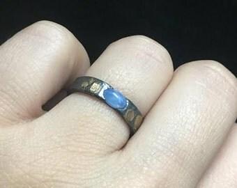Blue Star Sapphire Handmade